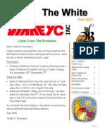 YAAEYC Fall Newsletter 2011