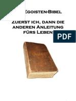 0 Die Egoisten Bibel