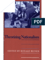 Beiner, Ronald, Ed. Theorizing Nationalism
