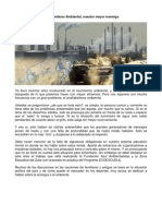 Analfabetismo Ambiental