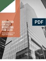 Advance Energy Modeling Guide