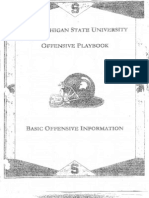 2006 Michigan State University Offense