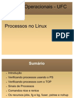 Apresentação processos no linux