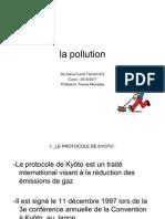 La Pollution Ppt