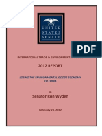 Wyden Staff Report