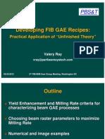 Developing FIB GAE Recipes