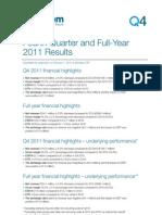 Transcom 2011 Finances