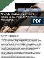 DEMO VOICE - 4 Elementos Clave Para Liderar Un Programa de Performance Management