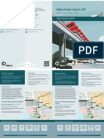 Green Line to LAX fact sheet