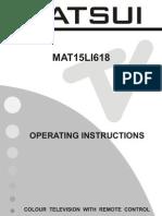 Matsui MAT15LI618