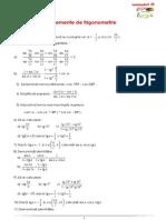 trigonometrie IX