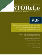 Historeografia Mujeres. Judith Gonzales