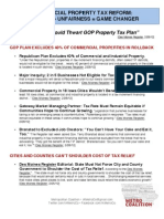 Commercial Property Tax Reform
