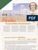 Finale Expeditie Robinson - Aartsrivalen Esther en John zijn erbij