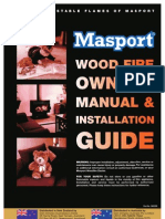 Masport Wood Fire User & Installation Manual