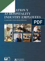 Generation Y as Hospality Employees