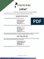 IPCybercrime.com LLC - WebSite Analysis