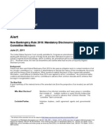 New Bankruptcy Rule 2019 -disclosures