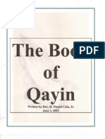 The Book of Qayin
