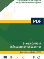 Barometrul Calitatii 2009 - Integral