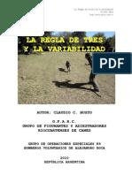 LA REGLA DE TRES Y LA  VARIABILIDAD EN EL PERRO!