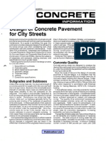 ACPA City Street Pavement Design