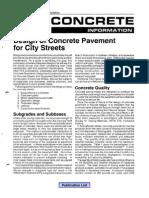 ACPA City Street Pavement Design