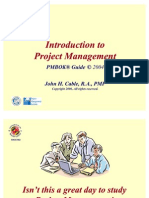 01. PMBOK Overview