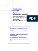 ENG B14 Other Banking Operations