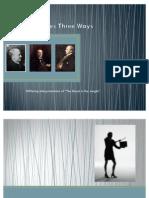 Henry James Three Ways