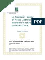 Fiscalizacion Superior Mexico 2011