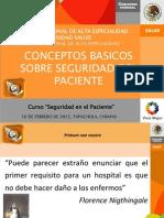 Seguridad en El Paciente