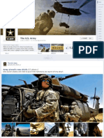 U.S. Military New Facebook Pages