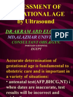 Assessment Gestational Age