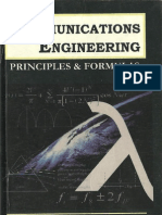 (Cover) Communications Engineering - Principles and Formulas