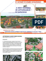 PIONEERING A NEW HOUSING CONCEPT FOR AFFORDABLE HOMES IN SARAWAK