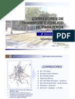Corredores De Transporte [Reformabús]