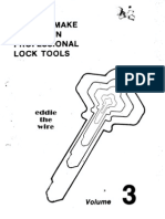 How to Make Your Own Professional Lock Tools Eddie the Wire From HemiSync Vol 3