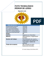 Documentacion de Program Ad Or y Usuario