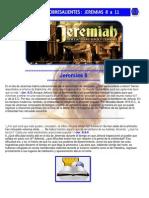 Puntos Sobresalientes - Jeremias 8 a 11