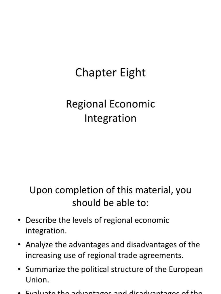 regional trade agreements advantages and disadvantages