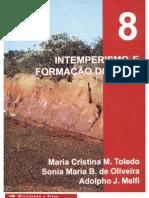 Decifrando a terra - cap 8 - intemperismo e formação dos solos
