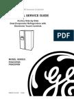Ge Refrigerator Dual Evaporator With 3 Speed Compressor & Inverter Board