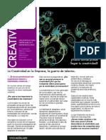 Creatividad en La Empresa 2009