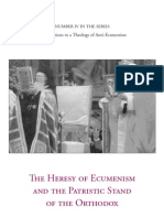 Metrop Kyprian the Heresy of Ecumenism and the Patristic