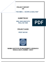PNB Summer internship report
