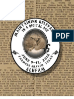 The 2012 Association for Living History, Farm and Agricultural Museums Annual Meeting and Conference Program