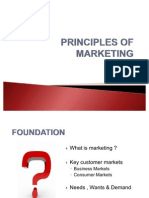Principles of Marketing - Summary