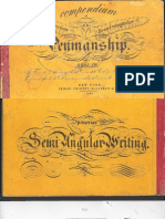 Spencer - Compendium of Spencer Ian or Semi-Angular Penmanship