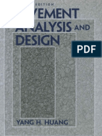 Pavement Analysis and Design by Yang H. Huang